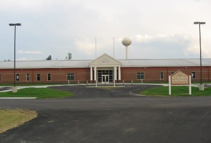 Front View of Meherrin Jail