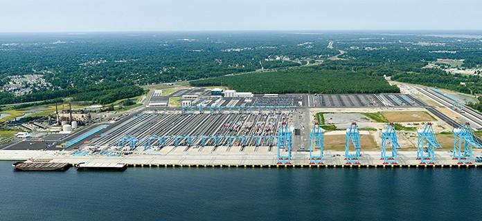 APM Terminal Yard, Portsmouth, VA