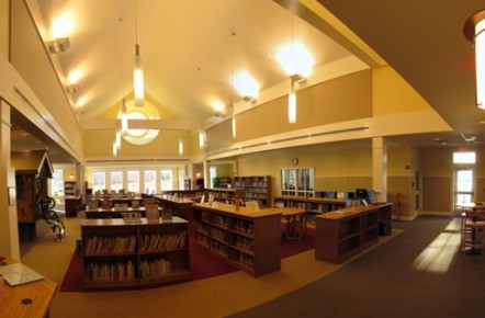 Library Looking South