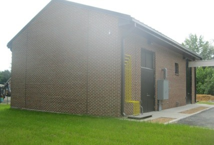 Charles City Road PS East Elevation