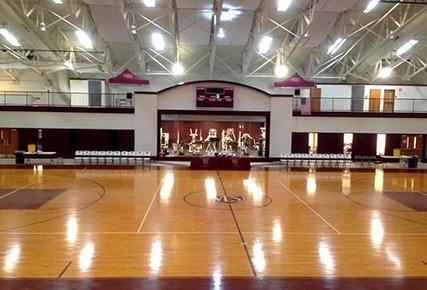 Conversion of Gymnasium into Auditorium