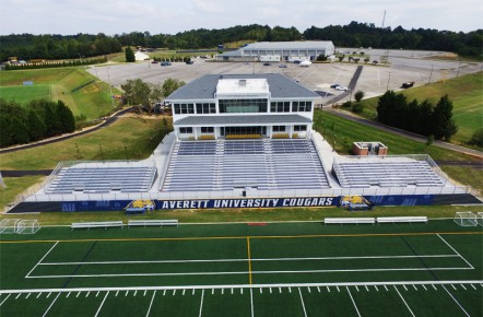 Press Box - Averett University - Danville, VA