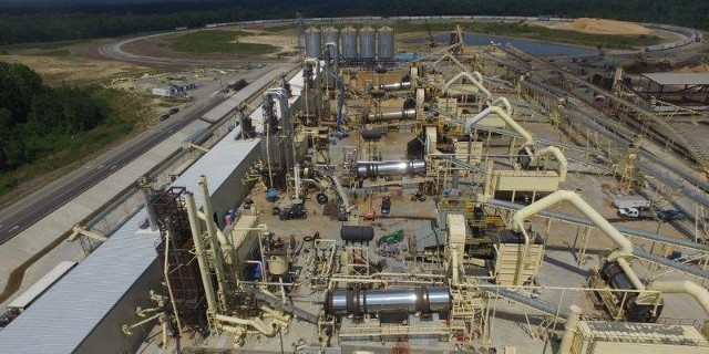 Highland Pellets Plant - Pine Bluff, AR - COMPLETED!