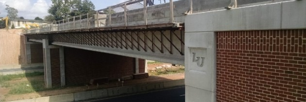 South Campus Bridge – Liberty University – City of Lynchburg, VA – Completed!