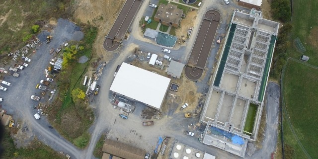 Upgrade and Expansion of WWTP and Relocation of DPW - Strasburg, VA - COMPLETED!