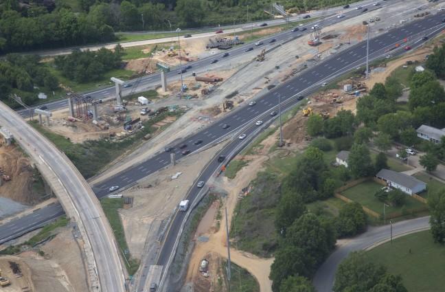 I-77 Intersection 107E & 107W- Construction of 2 new bridges